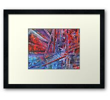 Suspension, Resolution Framed Print
