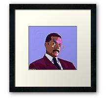 Jackie Chiles - Pop Art Framed Print