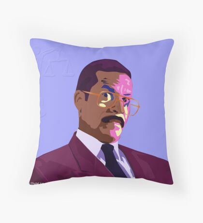 Jackie Chiles - Pop Art Throw Pillow