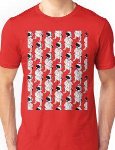 Isometric Robot Pattern Unisex T-Shirt