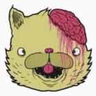 brains cat by skyeejohnston
