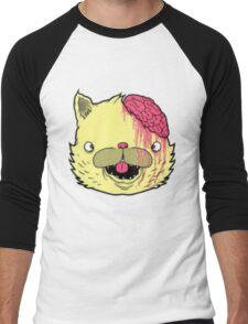 brains cat Men's Baseball ¾ T-Shirt