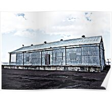 Wharf Shed Poster