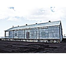 Wharf Shed Photographic Print