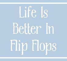 Flip Flops Poster by friedmangallery