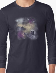 Trough Time and Space Long Sleeve T-Shirt