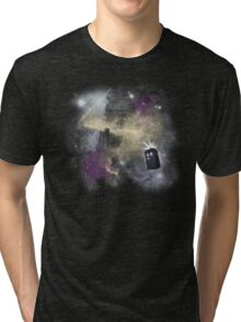 Trough Time and Space Tri-blend T-Shirt