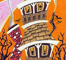 HALLOWEEN HOUSE by artxr