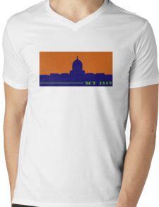 Montana 1889 Mens V-Neck T-Shirt