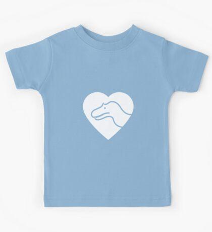 Dinosaur heart: Torvosaurus Kids Clothes