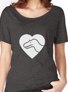 Dinosaur heart: Torvosaurus Women's Relaxed Fit T-Shirt