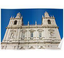 Monastery of Sao Vicente de Fora Facade Poster