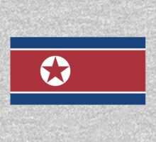 North Korea Flag by cadellin