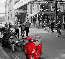 The Red Vespa by Stephen Knowles