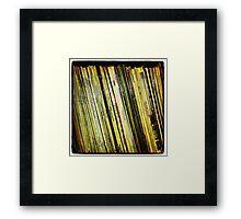 Vinyl - Instagram Framed Print
