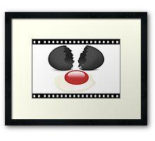 ✾◕‿◕✾ FILM STRIP EGG OF DISTINCTION✾◕‿◕✾ Framed Print