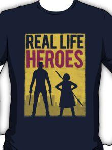 Real Life Heroes (V.2)  T-Shirt