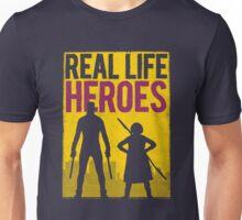 Real Life Heroes (V.2)  Unisex T-Shirt