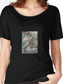 Life shrinks or expands - Courage Women's Relaxed Fit T-Shirt