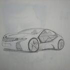 BMW (Original Sketch) by Pradeep Yadav