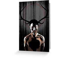 Horned God Greeting Card