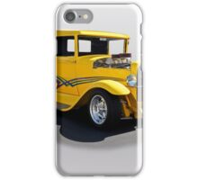 1930 Ford Hot Rod Pickup iPhone Case/Skin