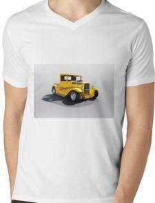 1930 Ford Hot Rod Pickup Mens V-Neck T-Shirt