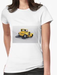 1930 Ford Hot Rod Pickup Womens Fitted T-Shirt