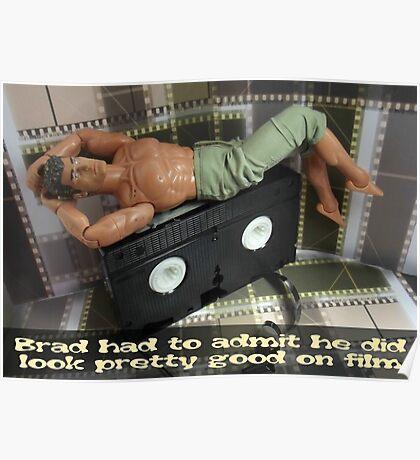 Brad on film Poster