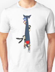 SuperWhoLock Tie T-Shirt