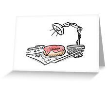 Inventing the Donut Greeting Card