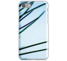 Simplicity is Green and Purple iPhone Case/Skin