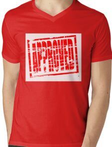 Approved Mens V-Neck T-Shirt