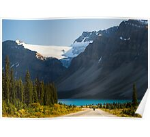 Riding the Icefields Parkway Poster