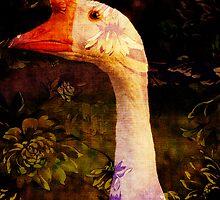 Garden Goose by PineSinger