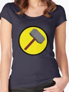 Captain Mjolnir Women's Fitted Scoop T-Shirt