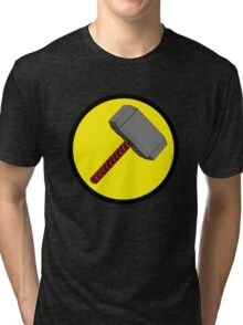 Captain Mjolnir Tri-blend T-Shirt