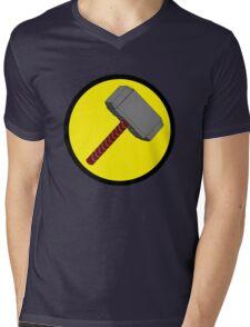 Captain Mjolnir Mens V-Neck T-Shirt