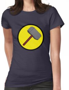 Captain Mjolnir Womens Fitted T-Shirt