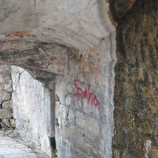 DUBROVNIK HISTORY AND GRAFFITI  by Thomas Barker-Detwiler