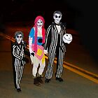 Beetlejuice and Family by Al Bourassa