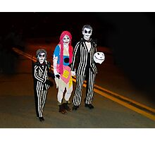 Beetlejuice and Family Photographic Print