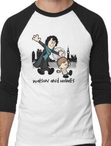 Watson and Holmes  Men's Baseball ¾ T-Shirt