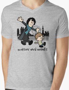 Watson and Holmes  Mens V-Neck T-Shirt