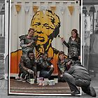 What we did on Mandela's 95th Birthday by awefaul