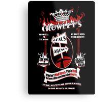 Crowley's Deals Agency Metal Print