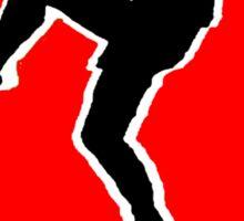 Karate Kid Crane Kick Sticker