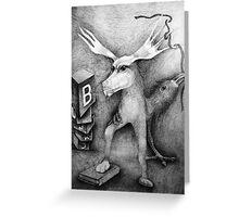 Books. Greeting Card