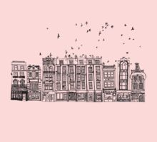 London & The Birds One Piece - Long Sleeve