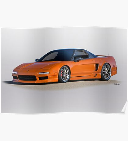 1994 Acura NSX Poster